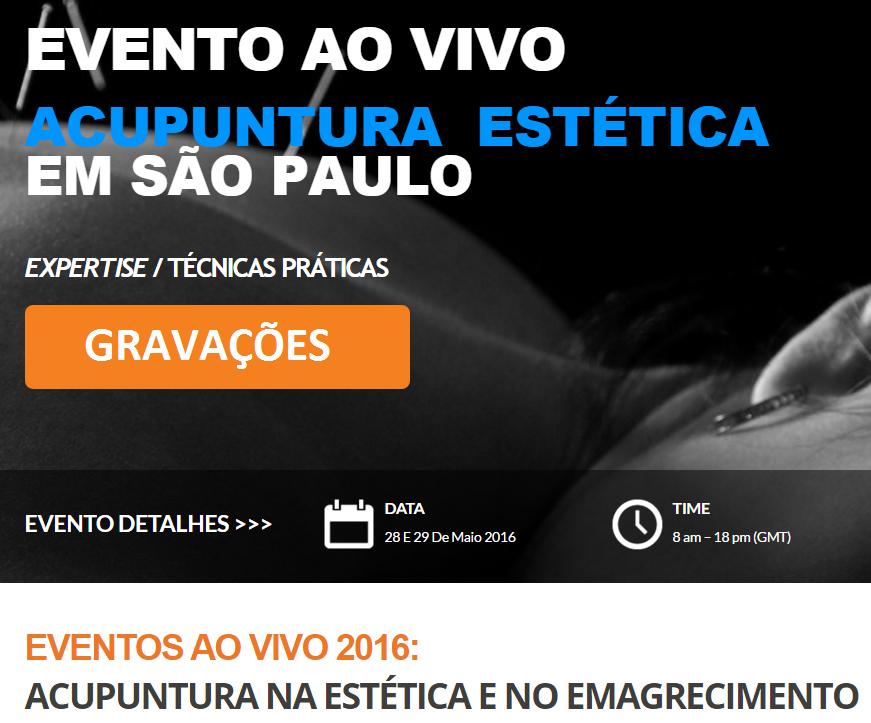 Evento ao Vivo em São Paulo 2016 1° SEMESTRE – Gravações